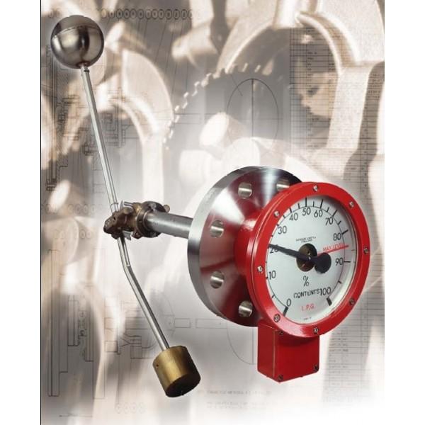 Δείκτες Υψηλής Πίεσης για LPG & άλλες Δεξαμενές Αποθήκευσης Χημικών υπό πίεση